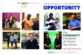 The Community Foundation for Greater New Haven 2018/19 Annual Report