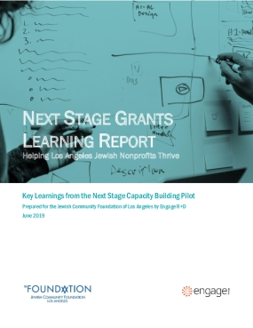 Helping Los Angeles Jewish Nonprofits Thrive: Key Learnings from the Next Stage Capacity Building Pilot