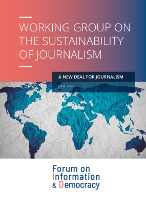 A New Deal For Journalism