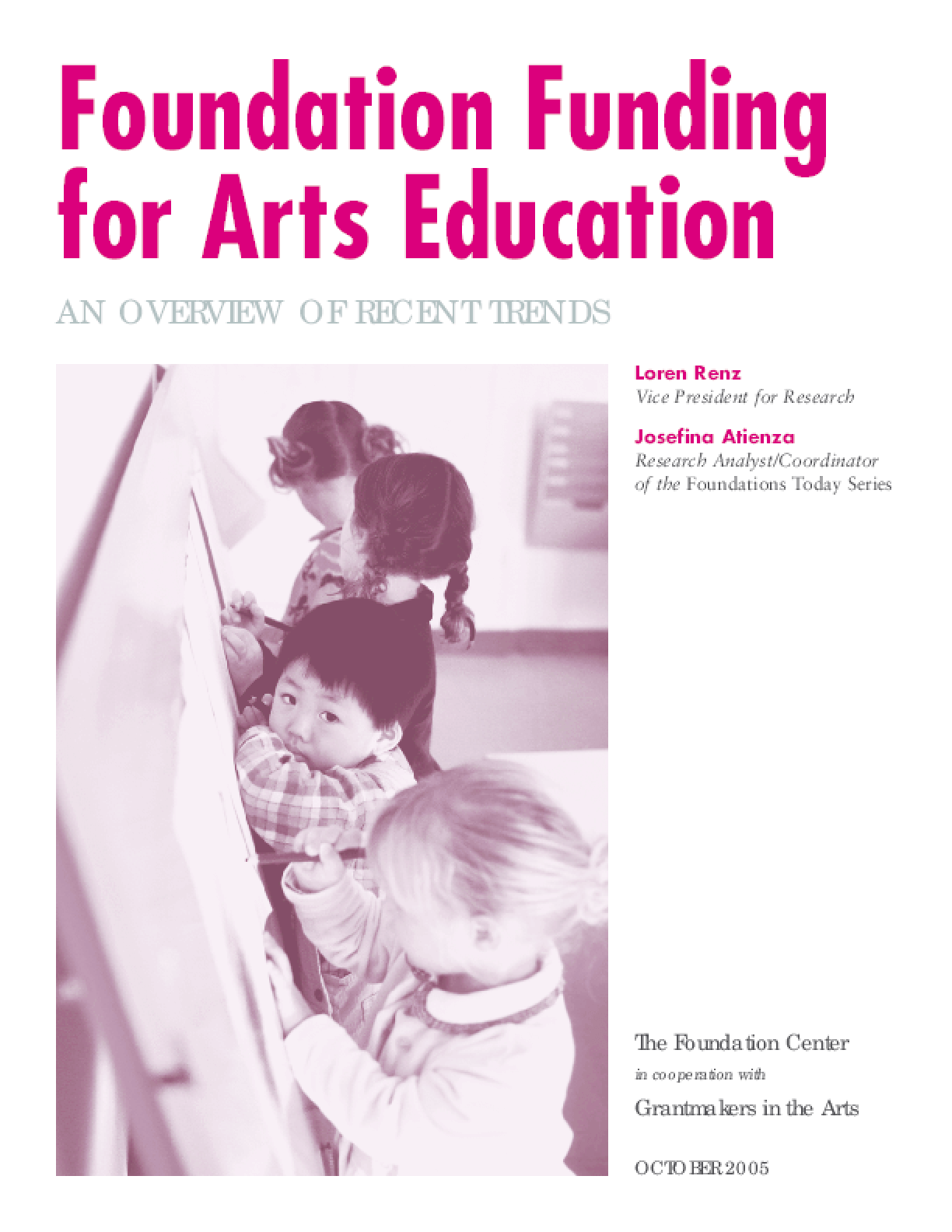 Foundation Funding for Arts Education